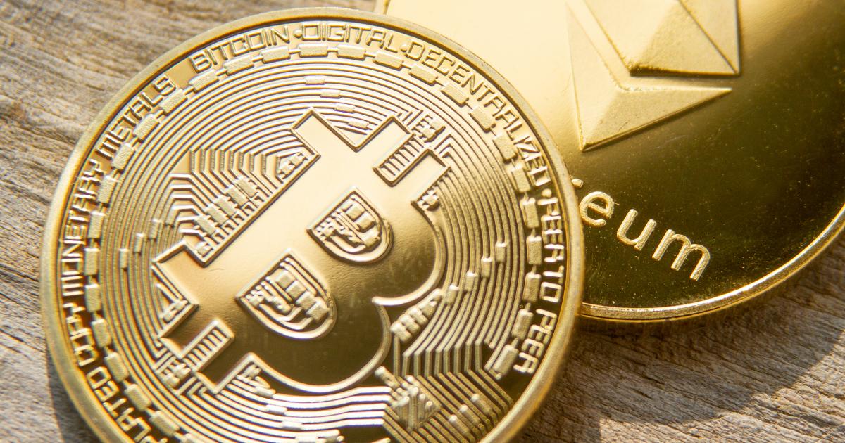 Bitcoin Éther pièces