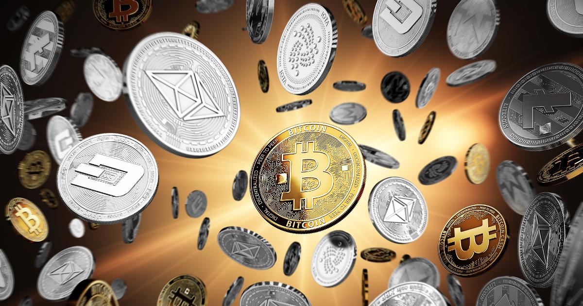 Cryptomonnaies volantes