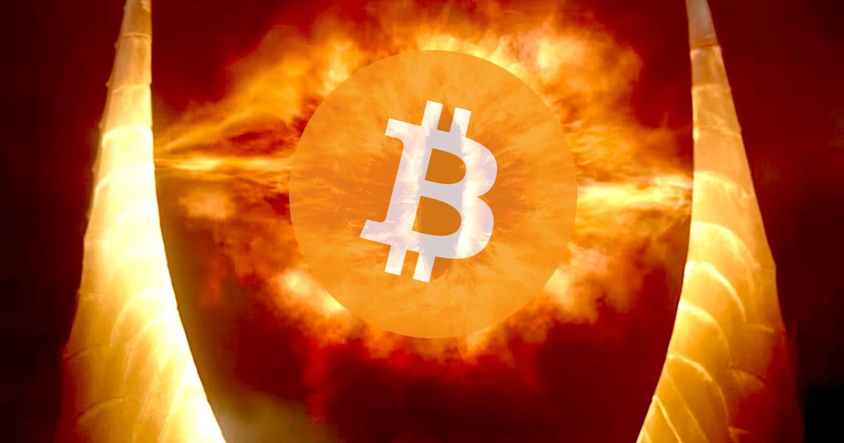 Œil de Sauron Bitcoin