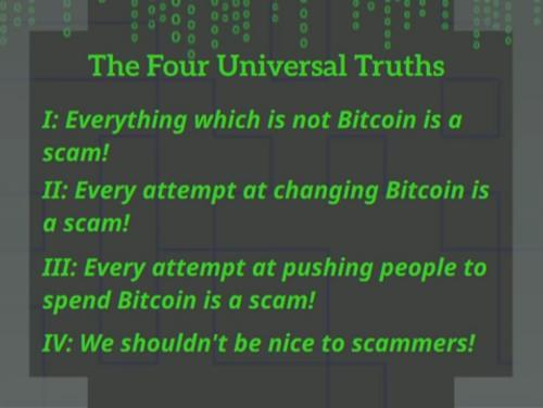 Les quatre vérités universelles du maximalisme selon Giacomo Zucco