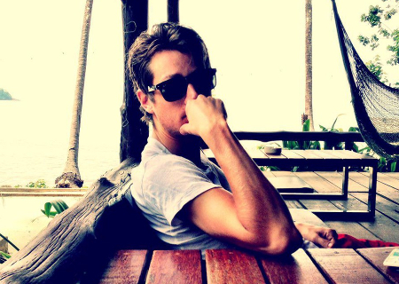 Andreas Brekken lunettes de soleil