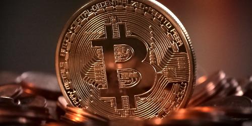 Pièce de bitcoin small