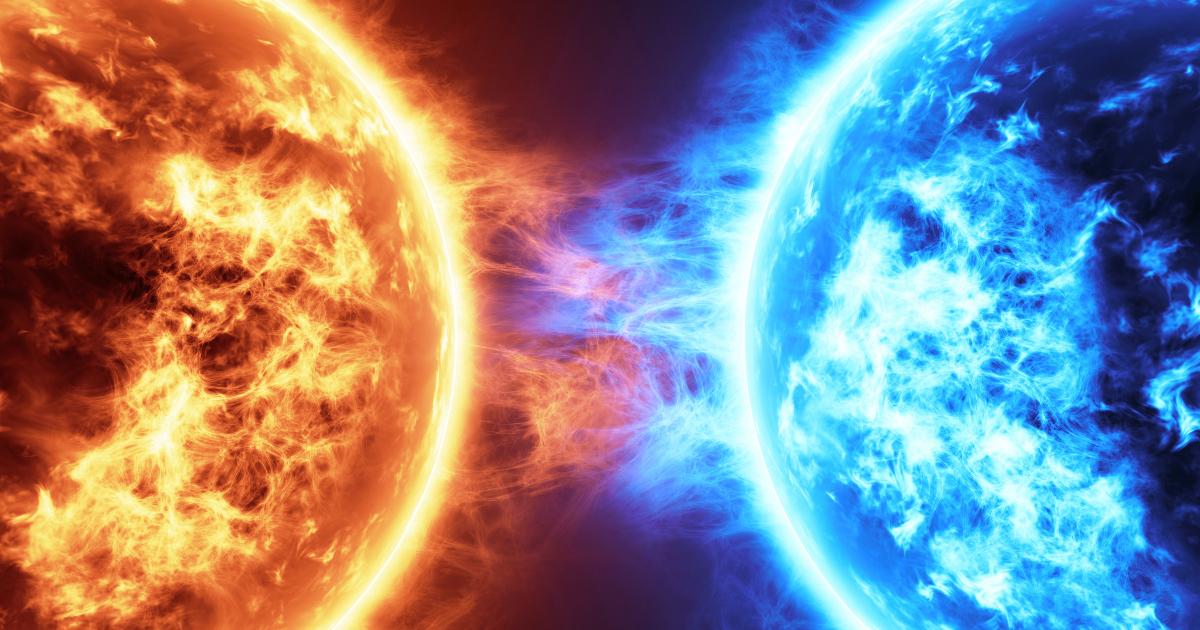 Planètes feu glace