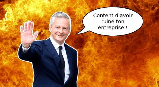Bienvenue en enfer avec Bruno Le Maire
