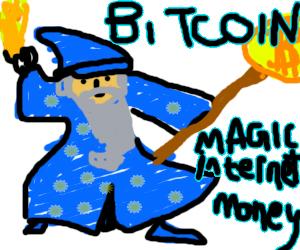Magic internet Money Bitcoin brouillon